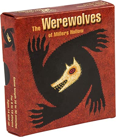 English language edition of Die Werwlfe vom Dsterwald,Age range: 10 and up / Number of players: 8 to