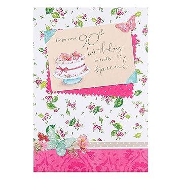 Hallmark 90th Birthday Card Really Special