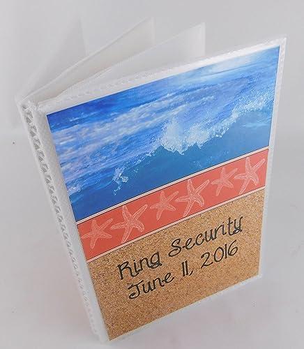 beach wedding photo albums