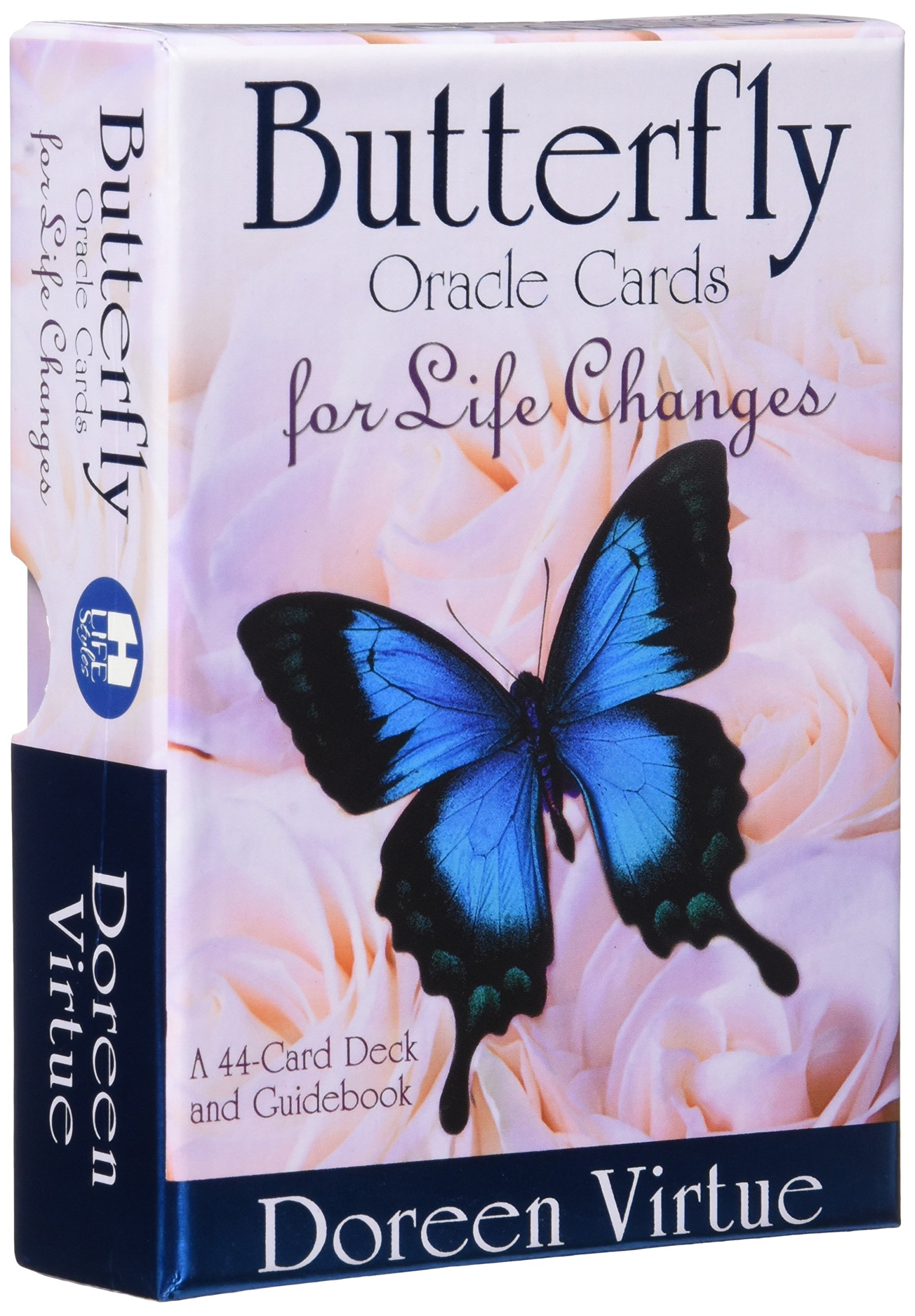 Butterfly Oracle Cards For Life Changes: A 44card Deck And Guidebook:  Doreen Virtue: 9781401950033: Amazon: Books