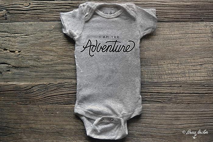 8e2d59b0a Amazon.com  I am the Adventure Baby Onesie Bodysuit. Kid