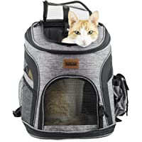 RETRO PUG Cat Carrier Backpack - Front Pack - Airline Approved - Strap Adjustable - Pet Carriers…