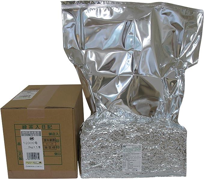 葉桐 静岡清水銘茶(浅むし:有機栽培)12000号 3kg