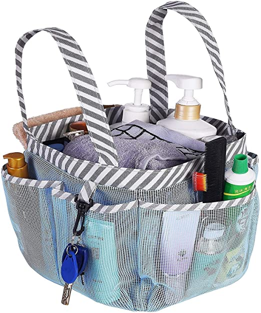 Amazon Com Haundry Mesh Shower Caddy Tote Portable College Dorm