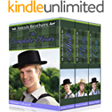 Amish Brothers Trilogy Boxed Set: A Three-part Amish Series Bundle (Vol 1,2,3 - Ahab, Elam, Cain): An Amish Christian Romance Series Book Bundle