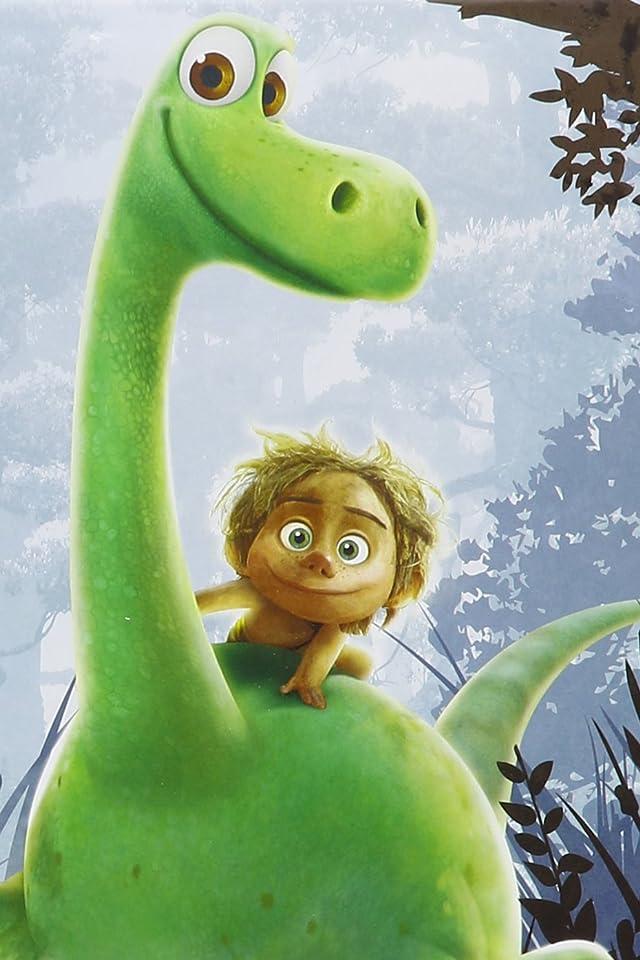 ディズニー 『アーロと少年』(The Good Dinosaur) アーロ(Arlo),スポット(Spot) iPhone(640×960)壁紙 画像57607 スマポ