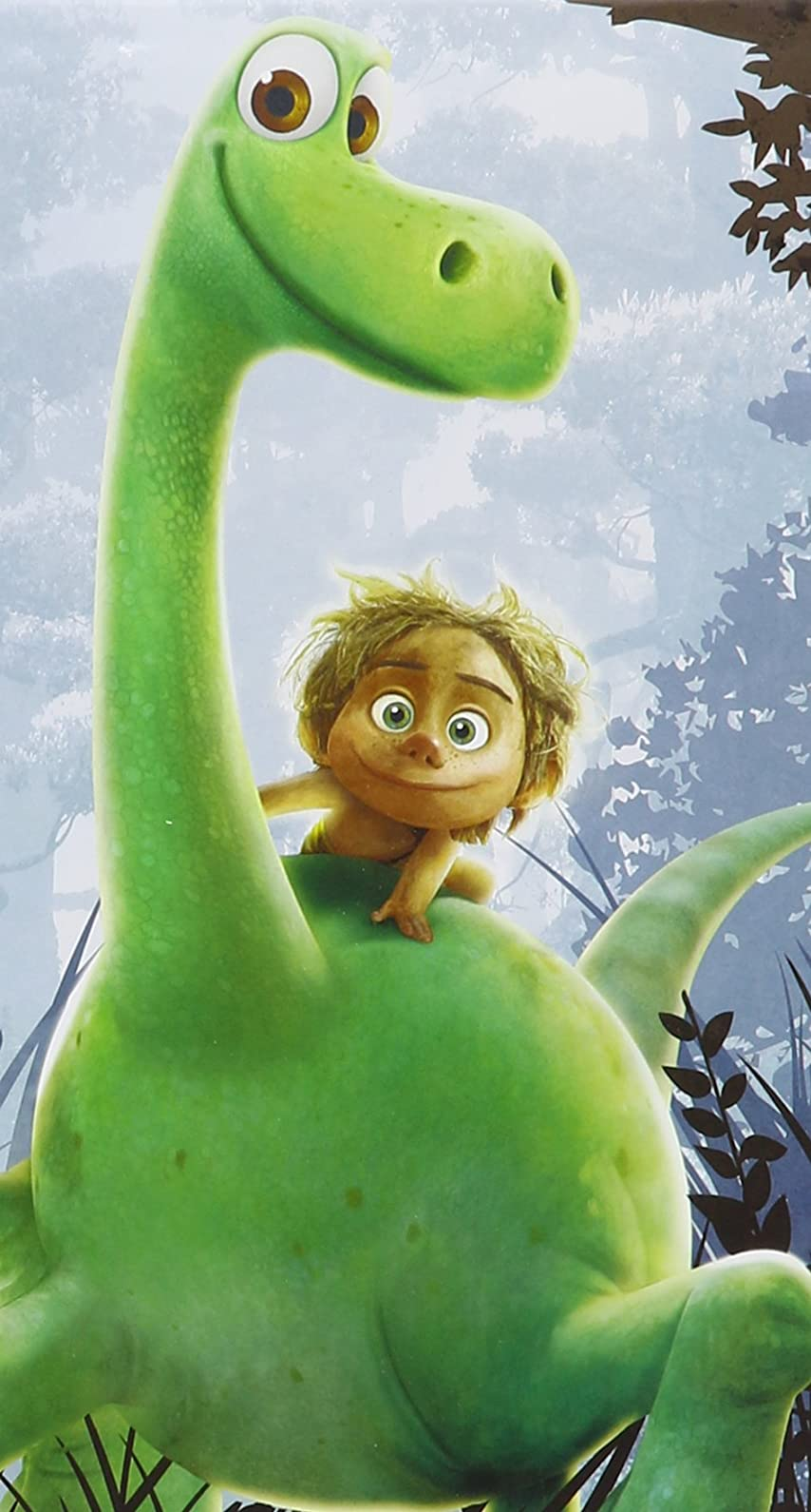 ディズニー 『アーロと少年』(The Good Dinosaur) アーロ(Arlo),スポット(Spot) iPhone8/7/6s/6 壁紙 視差効果 画像52802 スマポ
