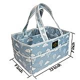 Jay Realm Diaper Caddy Organizer - Nursery Storage