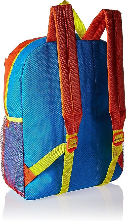 "Red /& Blue Wonder Woman Girls/' 18/"" Backpack"