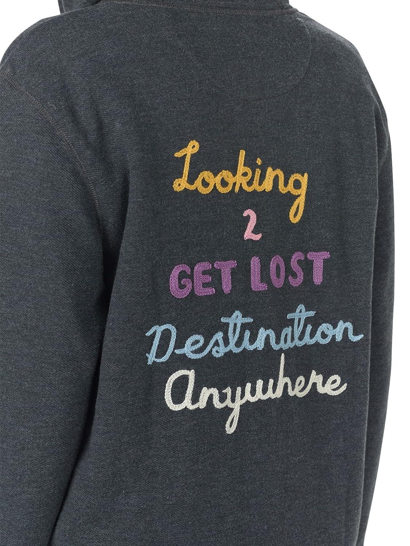 Burton Womens Neverwhere Full-Zip Hoodie Sweatshirt