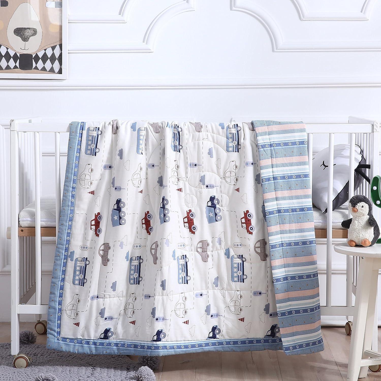 Twin 59 X 78 8, Twin 59 X 78 J-pinno Rabbit Bunny Cute Muslin Quilt Blanket Twin Bedding Coverlet 100/% Cotton Comforter Bedspread Throw Blanket for Kids Girls Bedroom Decoration Gift