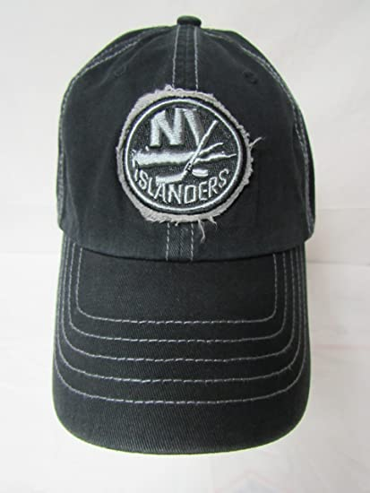 c1e4b23a39d32f Image Unavailable. Image not available for. Color: 47 Twins New York  Islanders Size X-Large Embroidered Platoon NHL Franchise NYI Circle Black