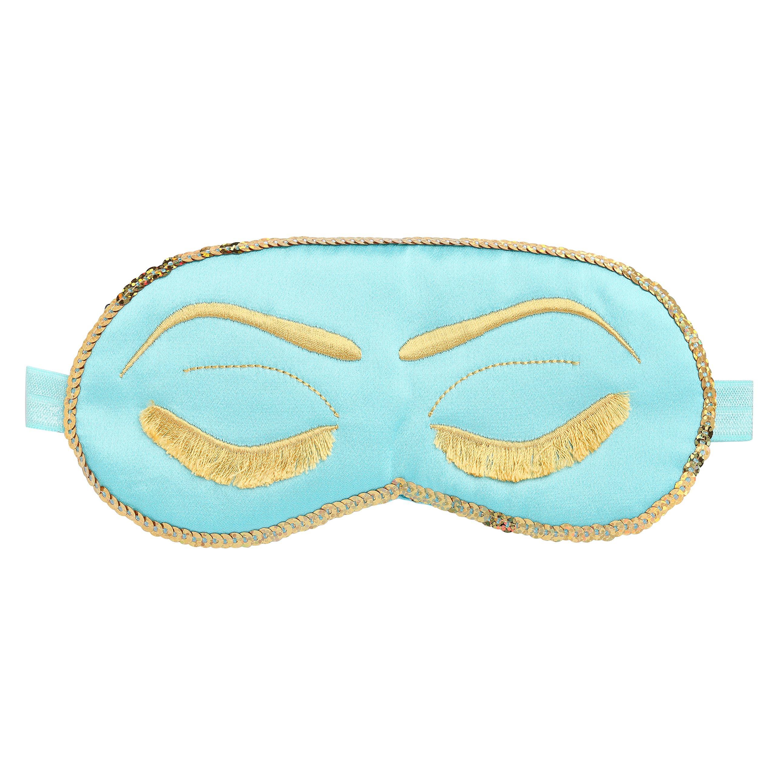 BABEYOND Sleeping Eye Mask for Women Cute Eye Mask Sleeping Beauty Eye Mask Eye Cover Mask Sleep Mask (blue)