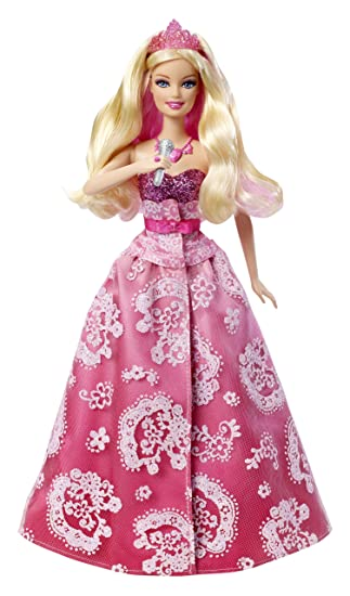 Mattel X8742  Barbie Die Prinzessin  der Popstar Prinzessin zu