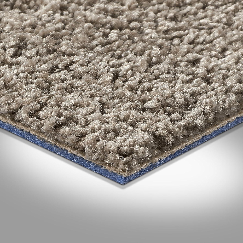 verschiedene Gr/ö/ßen Meterware Hochflor Langflor Gr/ö/ße: 1,5 x 5 m Teppichboden Auslegware 400 und 500 cm Breite grau braun
