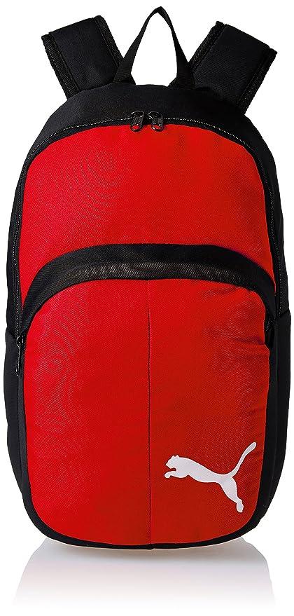 e61e33a8e3af Puma Red- Black Casual Backpack (7489802)  Amazon.in  Bags