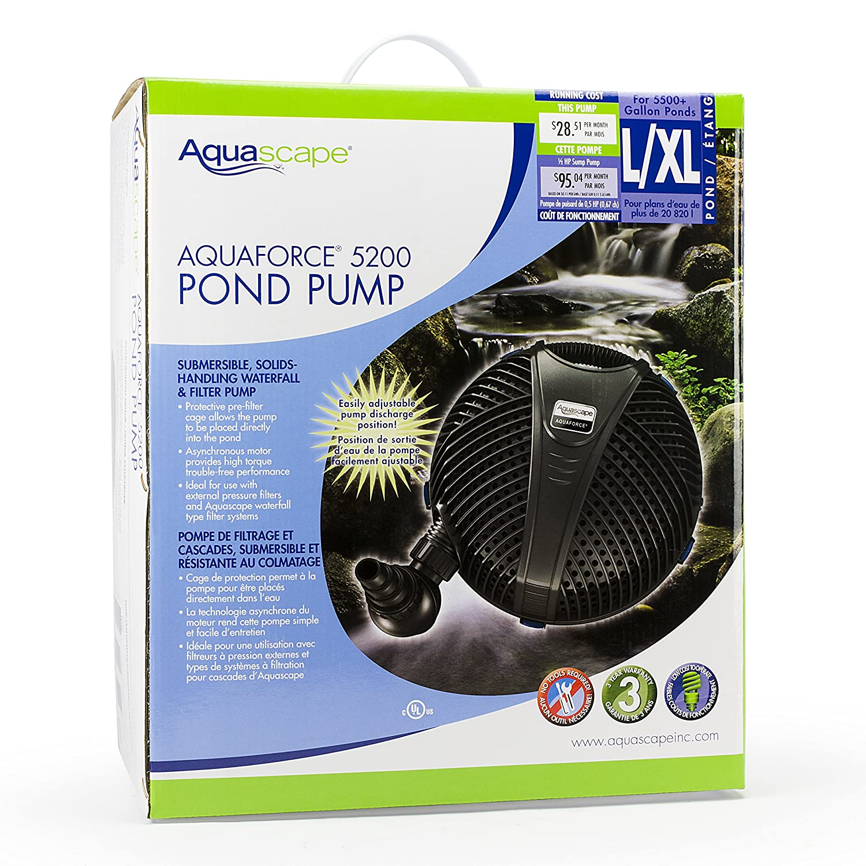 Amazoncom  Aquascape  AquaForce  Asynchronous Pump With - Amazon pond pumps