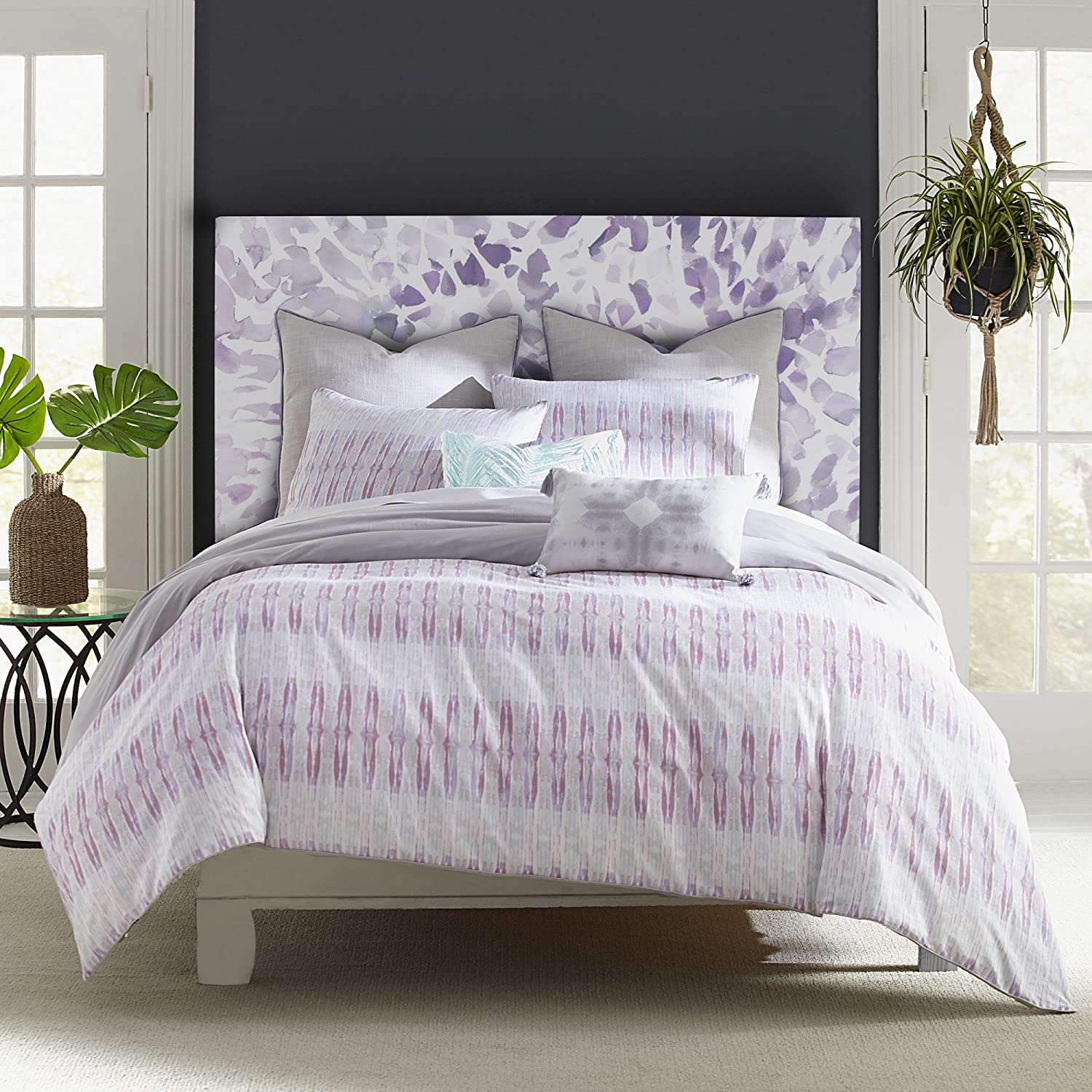 Amy Sia Sanctuary Comforter Set Full Queen Pink 3 Piece Home Kitchen