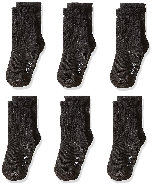 trimfit Boys Little 6 Pack Cotton Crew Socks comfortoe