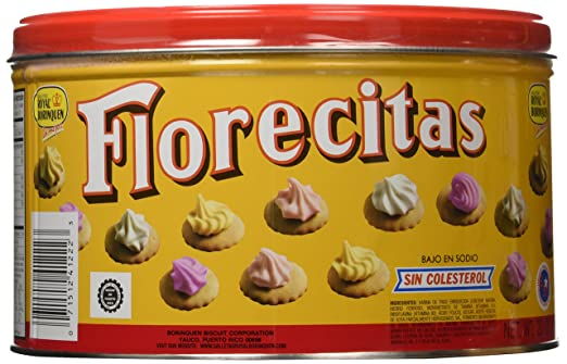 Florecitas Iced Gems Cookies 20 oz (2 Pack)
