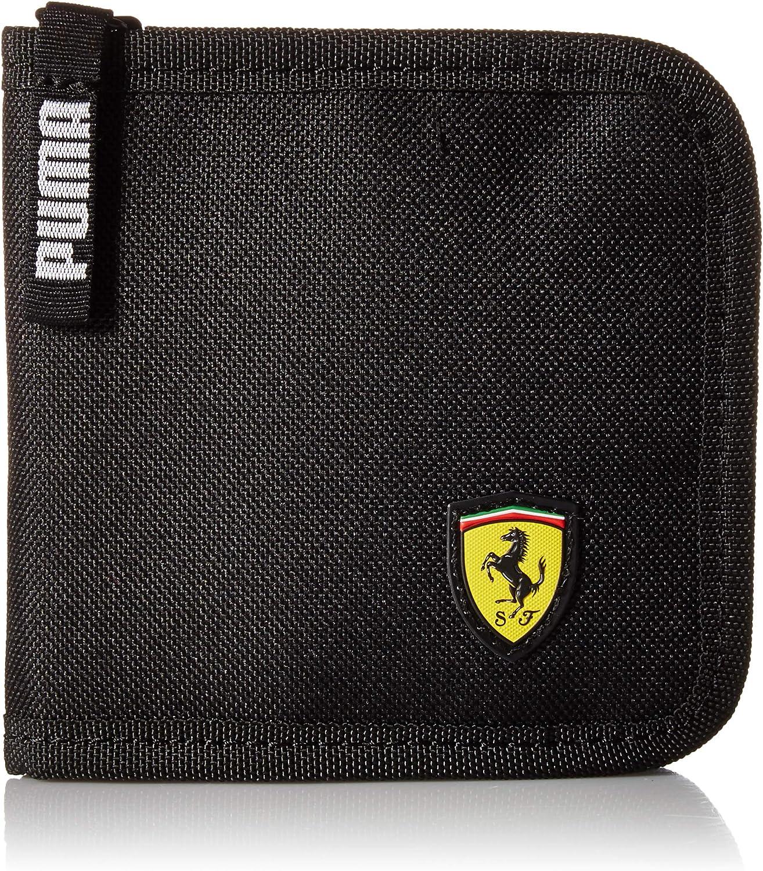 Puma Herren Scuderia Ferrari Fanwear Wallet Geldbörse Schwarz Einheitsgröße Amazon De Bekleidung