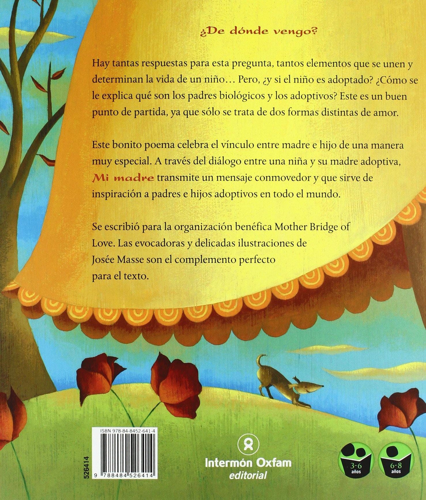 Mi Madre My Mother Spanish Edition Josee Masse 9788484526414