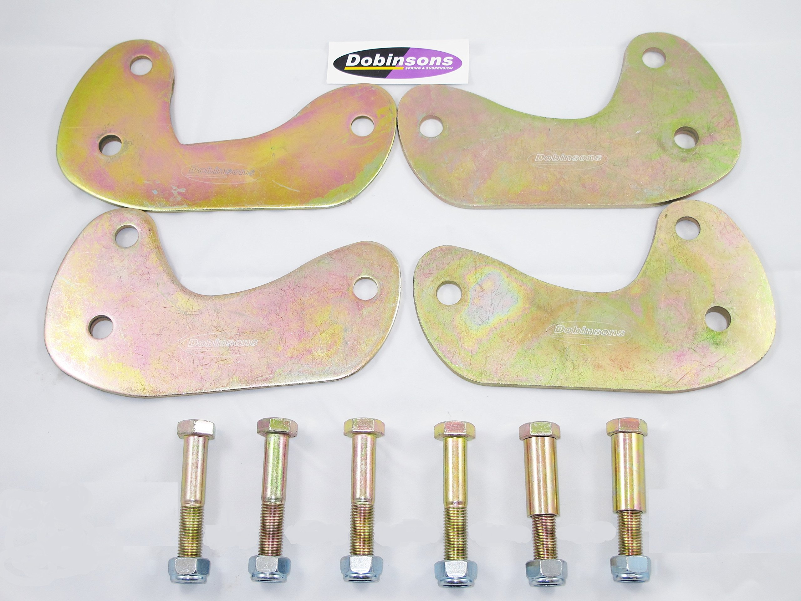 Dobinsons 5° Caster Plate Kit for Toyota Land Cruiser 80 and 105 Series