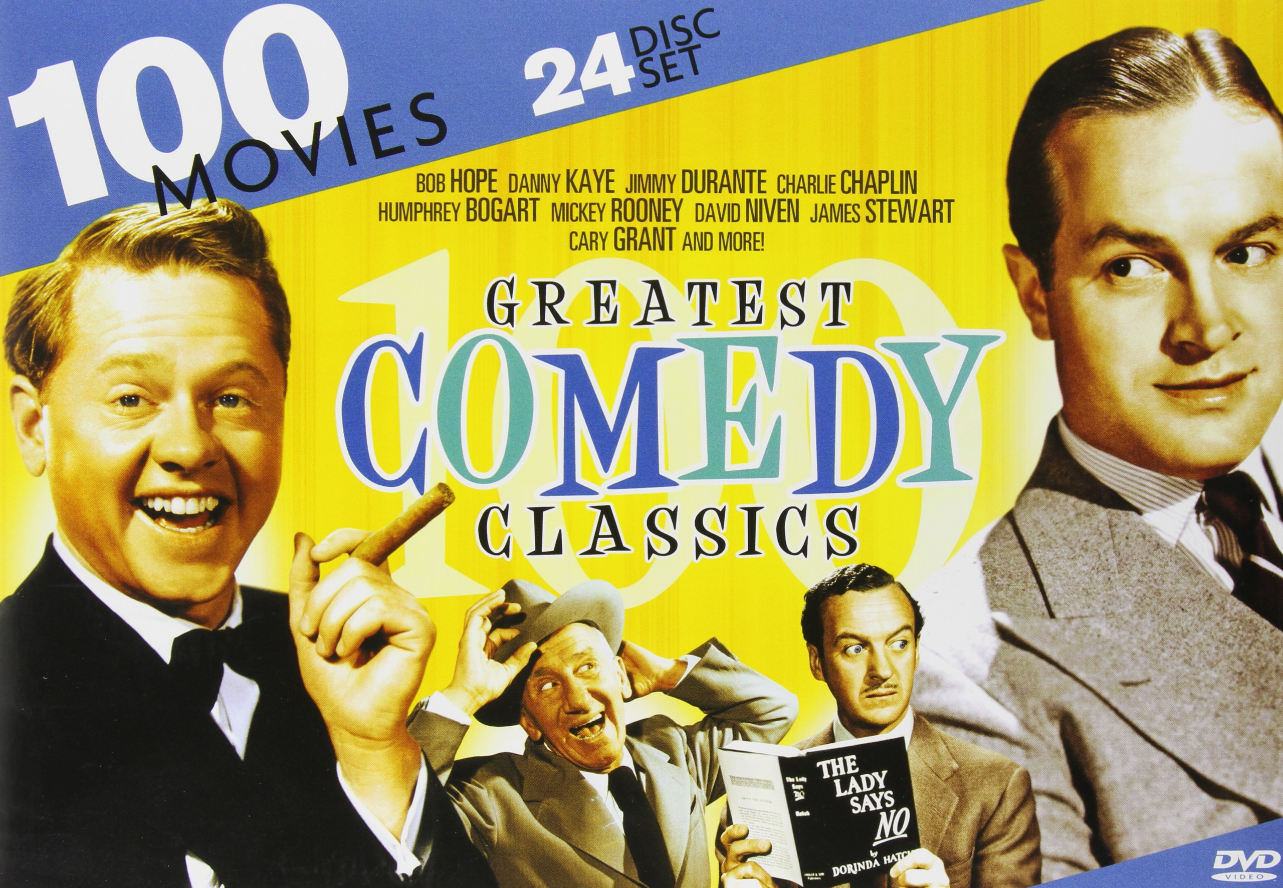 100 Greatest Comedy Classics - Comedy Kings + Hollywood Comedy by Mill Creek Entertainment