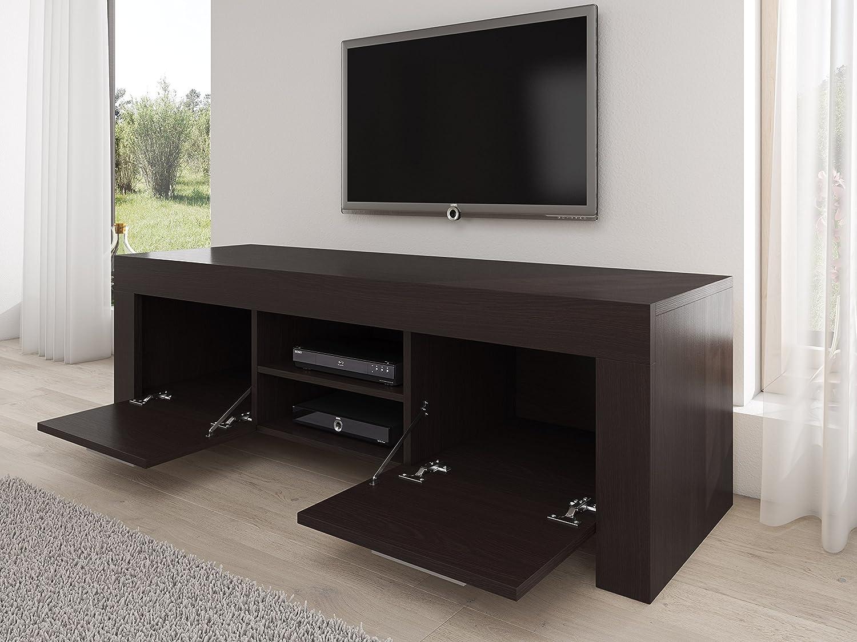 Meuble Tv Armoire Support Rome Weng 160 Cm Amazon Fr Cuisine  # Meuble Tv Jeux Video