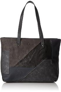Damen Noelia Shopping Bag Schultertasche, Mehrfarbig (White Comb), 6x33.5x50.5 cm Tamaris