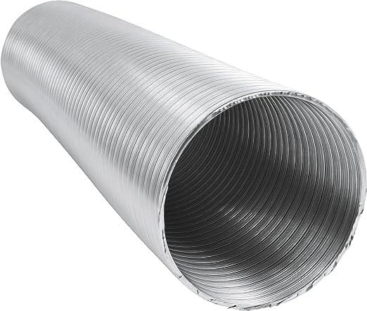 Alu-Flex-Rohr 1m 3m 5m Flexrohr /Ø 80 100 125 150 200 Alurohr Schlauch Flexschlauch Aluflexschlauch 1 Meter, 125 mm