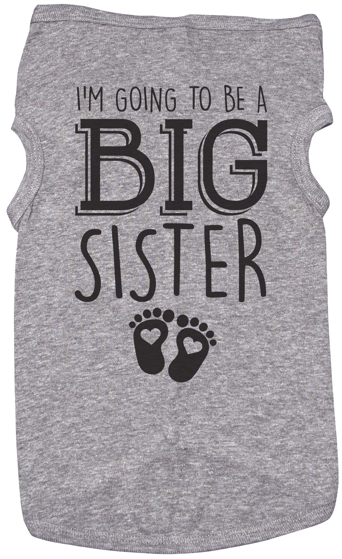 Big Sister Shirt for Dogs/I'M GOING TO BE A BIG SISTER/Puppy Tshirt/Girls (XL)