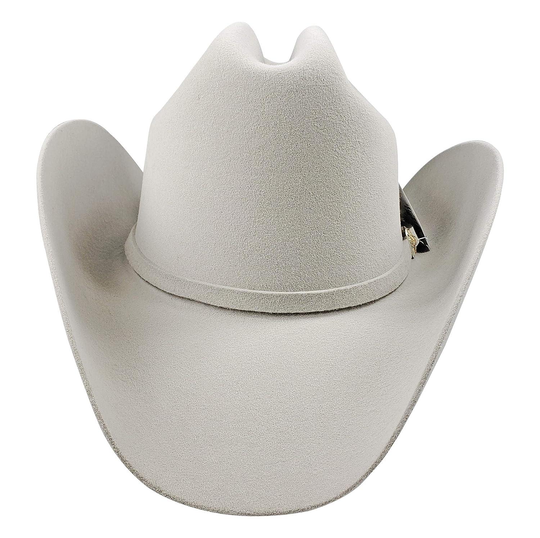 El General Mens Cowboy Hat Texana 50X Horma Durangense Color Snow Wool