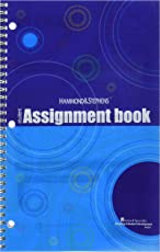 """Hammond and Stephens 803241 Student Edition Daily Agenda Planner, Book Stock, 7"""" x 11"""" Size"""