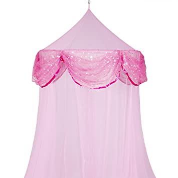 Best Choice Products Bed Mosquito Netting Canopy Pink Princess Bedding Bed Netting Children Kids New  sc 1 st  Amazon.com & Amazon.com: Best Choice Products Bed Mosquito Netting Canopy Pink ...