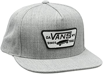 Amazon.com  Vans MN Full Patch Snap Snapback Baseball Cap Black ... f8dbcbe6fcd