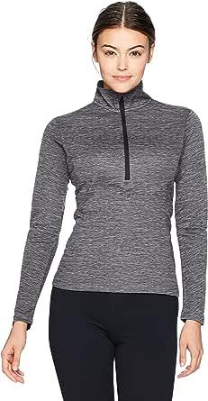 Russell Athletic Womens QZ7EAX0 Lightweight Performance 1/4 Zip Long Sleeve Warm Up Jacket