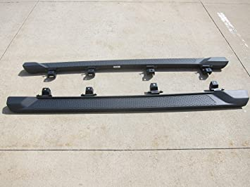 Amazon Com Mopar Jeep Gladiator All Black Running Board Kit New