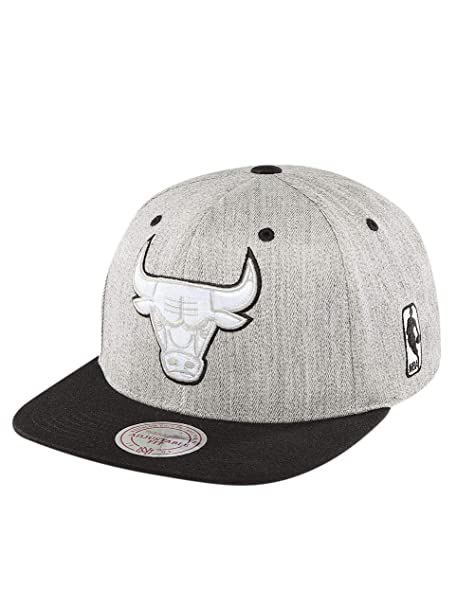 Mitchell & Ness Mujeres Gorras / Gorra Snapback NBA 3-Tone Logo Chicago Bulls