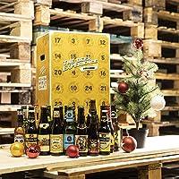 Calendrier de l'avent - 24 bouteilles - Idée cadeau - Bières du monde