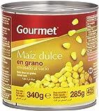Gourmet - Maíz dulce en grano - Envasado al vacío - 285 g - [Pack de 12]