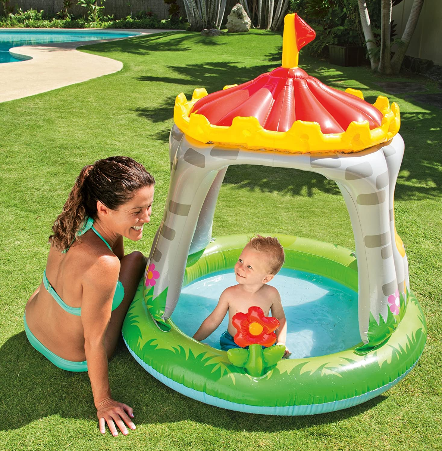 "Intex NP Baby Pool ""Royal Castle"" Amazon Toys & Games"