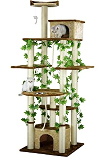 Go Pet Club F2095 Cat Tree Furniture, 85 Inch