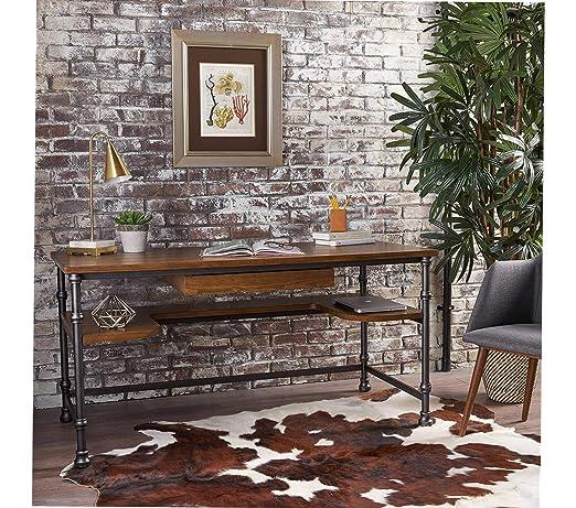 Wood & Style Office Home Furniture Premium Lochlin - Escritorio ...