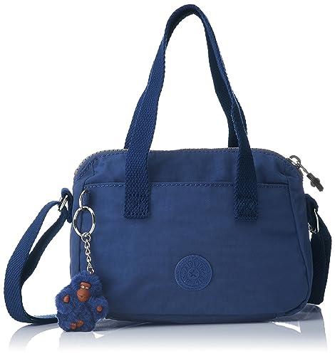 7e1f6b027 Kipling Leike, Bolso Bandolera para Mujer, Azul (Jazzy Blue), 9.5x19 ...