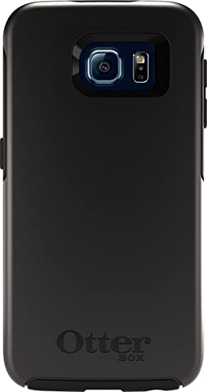 quality design d97ca 6e831 OtterBox SYMMETRY SERIES for Samsung Galaxy S6 - Retail Packaging - Black