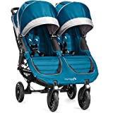 Baby Jogger City Mini GT2 Double Stroller, Teal