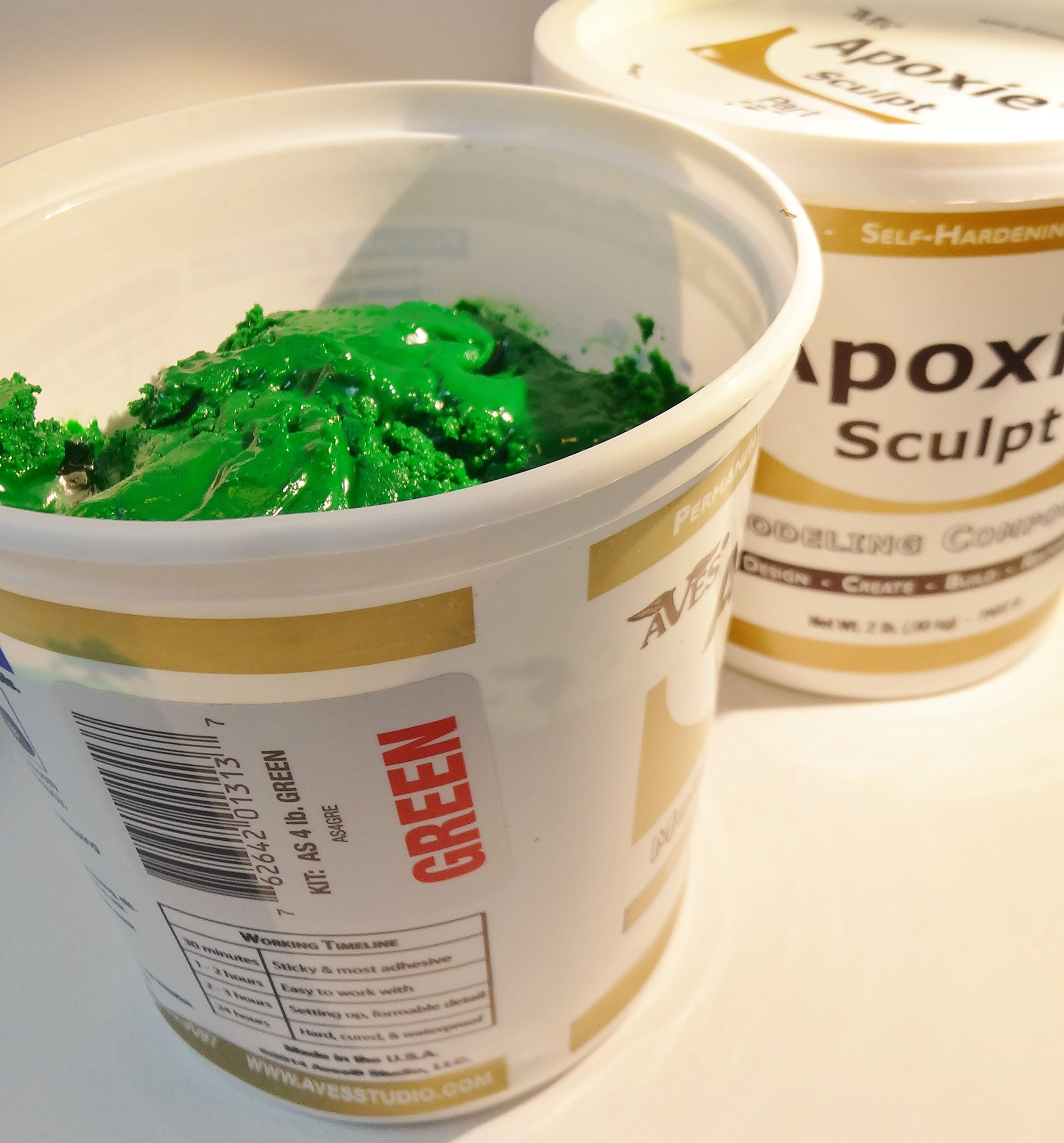 Apoxie Sculpt 4 Lb. Epoxy Clay - Green by Aves