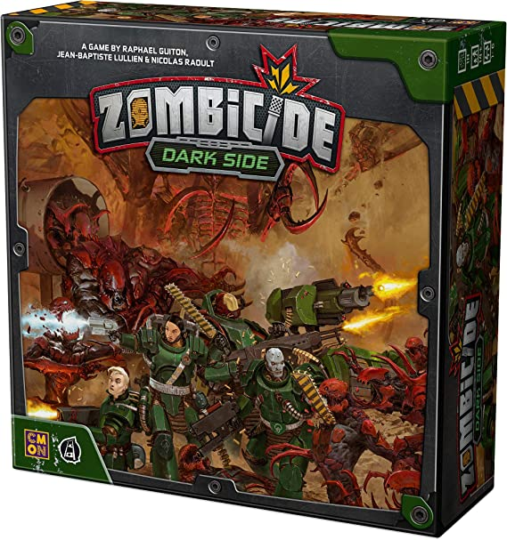 8 x PALE GREY  TRACKERS //DARK SIDE// ZOMBICIDE INVADER G248