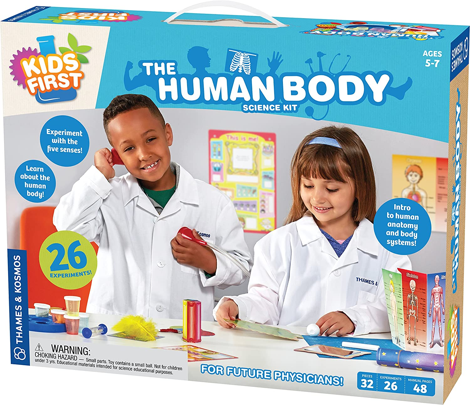 The Human Body (Kids First)